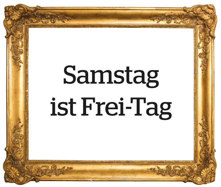 Samstag Ist Frei Tag Museum Wiesbaden