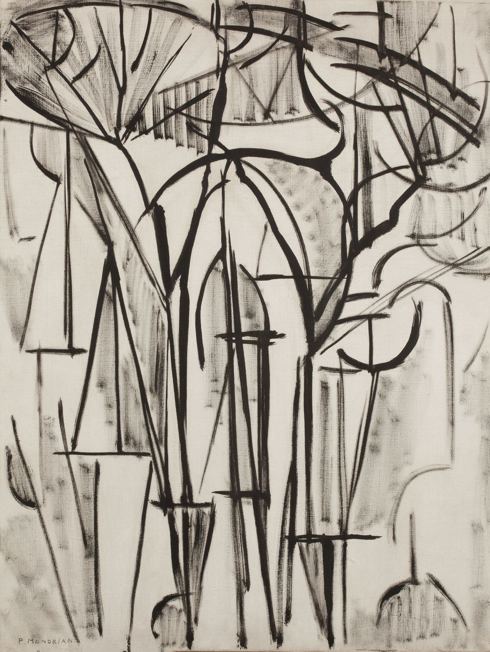 Composition (Trees 1), 1912